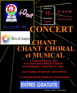 concert LCDC 13 dec 2015